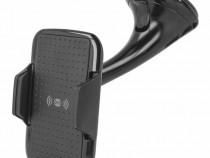 Suport Auto Telefon cu Incarcare Wireless Quick Charge 10w F