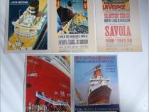 5 carti postale de colectie - Nave maritime TRANSATLANTICE-1