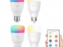 Bec Smart LED Xiaomi Yeelight RGBW 10 watti 800 lumeni color