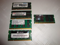 Memorii ram laptop ddr2 sodimm 667 si 800 mhz capacitate 2gb