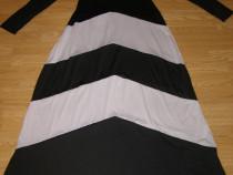 Costum carnaval serbare rochie zebra pentru adulti marime M