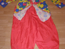 Costum carnaval serbare clovn pentru adulti marime XL