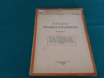Studii istorico-filozofice / i. petrovici/ 1943