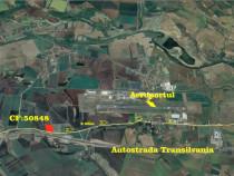 Teren zona aeroportului Mureș cu deschidere la E60 20000mp