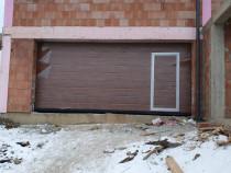 Usa de garaj sectionala nuanta Stejar Auriu
