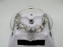 Bratara Pandora Rose cu Charm-uri din Argint 925