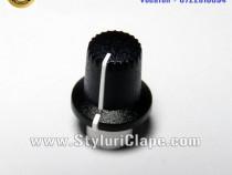 Buton potentiometru Acordeon ROLAND (black Knob)
