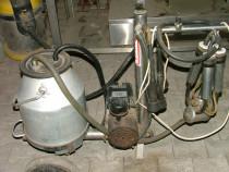 Mulgatoare electrica cu 4 suzete pentru o singura vaca