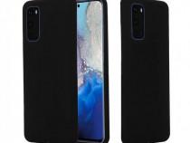 Husa Telefon Silicon Samsung Galaxy S20+ g985 Liquid Black