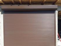 Usa de garaj electrica cu telecomanda si manivela de service