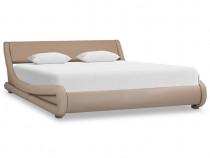 Cadru de pat, cappuccino, 160 x 200 cm, 285724