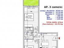 Direct dezvoltator apartament 3camere Selimbar zona Primarie