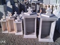 Felinare funerare si accesorii pentru morminte.