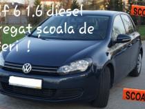 Volkswagen golf VI agreat școală de șoferi !!!