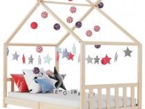 Cadru de pat pentru copii, 90 x 200 cm 283366