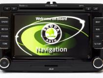 Update hărți și soft navigație GPS Volkswagen și Skoda RNS 5
