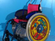Scaun cu rotile activ din aluminiu pentru copii Sopur / sezu