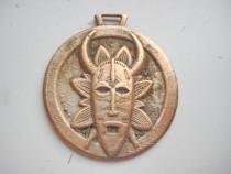 4856-Tropica Pointe Noire-masca Africana Medalie decor.