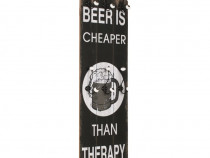 Cuier de perete cu 6 cârlige beer cheaper, 245851