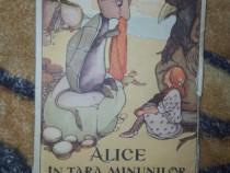 Alice in tara minunilor (cu ilustratii )- Lewis Carroll