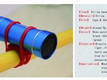 Suport multifunctional silicon lanterna ghidon bicicleta mtb