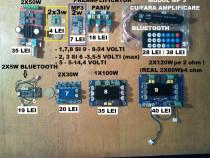 Amplificatoare audio, MP3 playere cu bluetooth, preamplifica