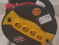 Rola prelungitor 4 prize 20m cablu 3x2.5