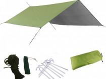 Prelata cort impermeabila verde pentru terasa, pescuit noua!