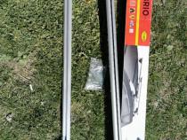 Set 2 bare transversale portbagaj Menabo Brio 120cm aluminiu