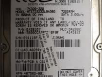 "Hard Disk-HDD Sata Hitachi 320 Gb 2,5""-Defect CODE: 7K320-32"