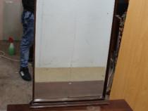 Toaleta vintage cu usa si sertar; Comoda cu oglinda; Dulap