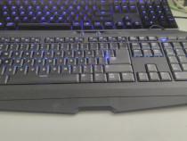 Tastatura Gaming Gigabyte FORCE K7, SLIM, Anti-ghosting, USB