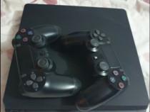 PS4 slim, 2 controllere si 35 de jocuri