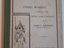 Carte veche 1911 manual de istorie vasile dimitrescu