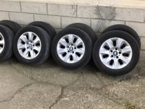 Jante aliaj BMW 16 inch si anvelope vara + iarna 225 55 16