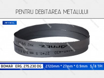 Panza 2720x27x5/8 fierastrau metal BOMAR ERG275 230DG banzic