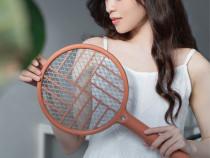 Paleta de insecte/tantari Dispozitiv pliabil electric cu LED