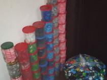 Colecție dopuri/ capace plastic (PET) -> 5000 Buc.