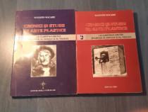 Cronici si studii de arte plastice de Augustin Macarie 2 vol