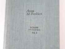Aram frenkian scrieri filosofice