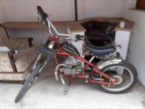 Bicicleta cu motor