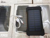 Power Bank Solar 10000mAh (baterie externa)