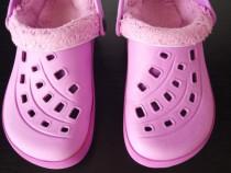 Sandale mov cu bareta 20,5 cm