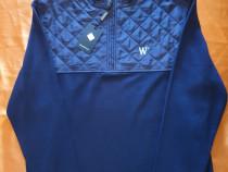 Tricou de culoare bleumarin