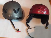 2 Casti/snowboard Carrera,Helmets marime 54-47-Schi