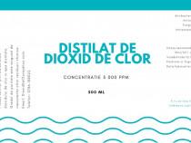 Distilat De Dioxid De Clor-Chlorine Dioxide Solution-MMS