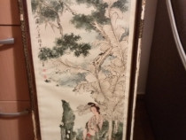 Tablou China pictură foarte vechi
