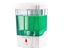 Dozator/dispenser de sapun/dezinfectant cu senzor infrarosu.