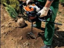 Inchiriez foreza burghiu de făcut găuri în pământ