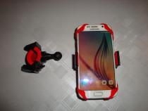 Suport telefon / tableta mini prindere pe ghidon bicicleta